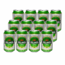 12x330 ml-Cerveza HOLLANDIA