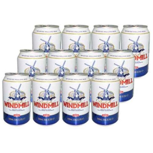 12x330 ml-Cerveza Dutch WINDMILL